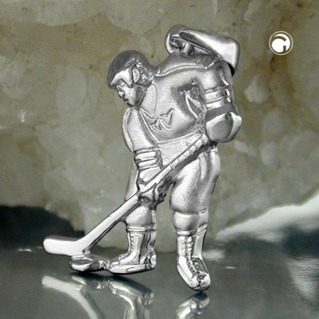 Pendentif Hockeyeur en argent