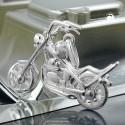 Pendentif moto en argent 925/000