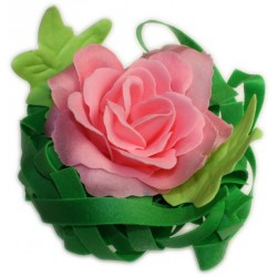 Grande rose de bain