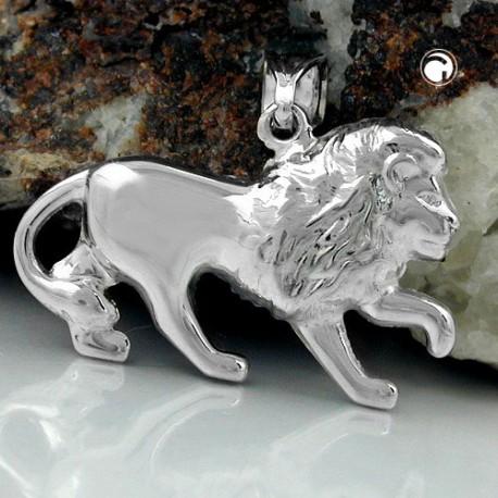 Pendentif lion en argent 925
