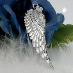 Pendentif aile d'ange en argent